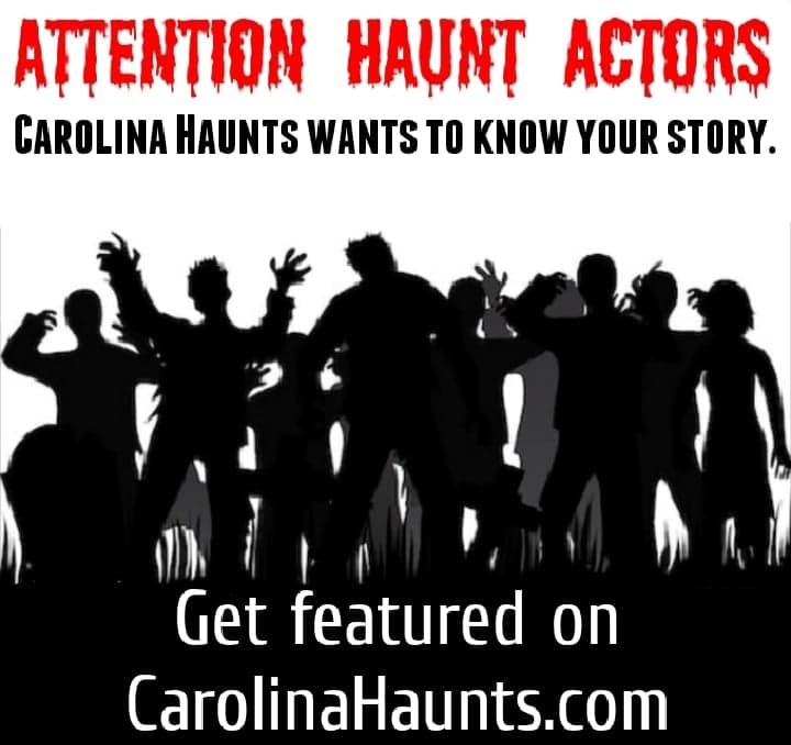 GET FEATURED ON CAROLINA HAUNTS
